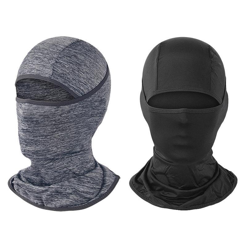 Máscara Facial Proteção UV para Máscaras Homens Mulheres Ski Sun Hood, Ciclismo Caminhadas Máscara