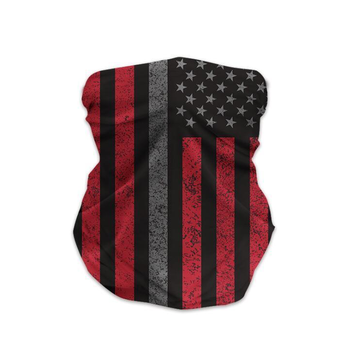 Sport Masken Bandana Amerika-Flaggen-Masken-Schal-Fahrrad-halbe Gesichts-Cover Design Gesichts-Schild Radfahren Außengesichtsmasken Headwrap Schal OWE2040