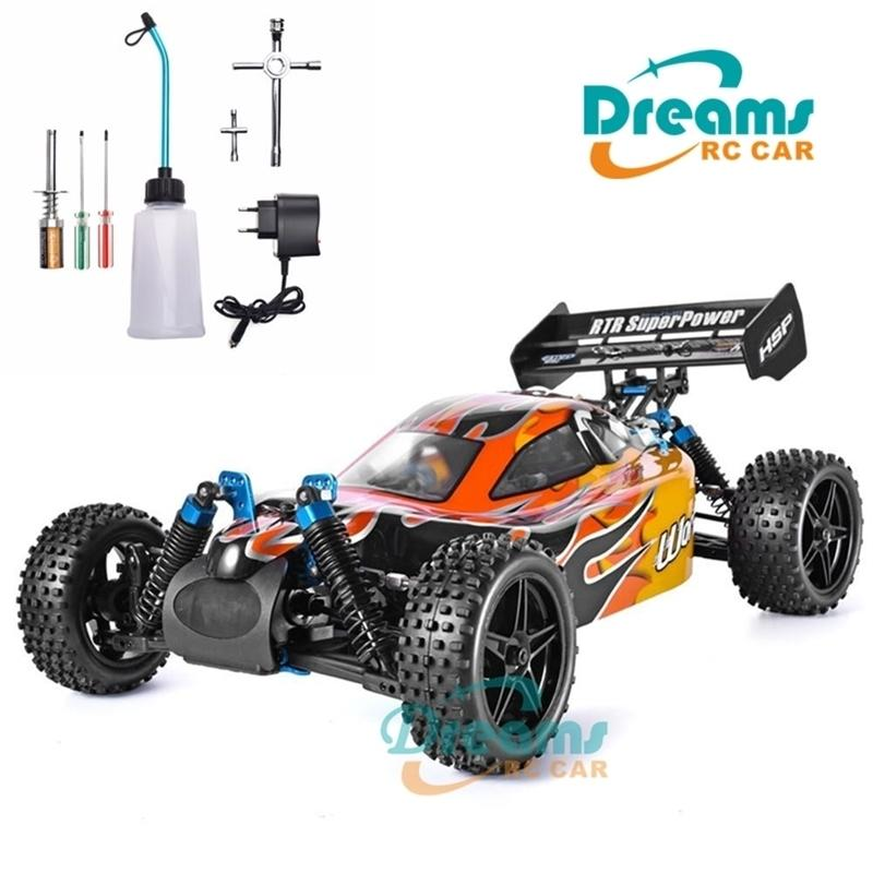 Neues HSP RC-Auto 1:10 Maßstab 4WD RC Spielzeug Zwei Speed ​​Off Road Buggy Nitro Gas Power 94106 Warhead High Speed ​​Hobby Fernbedienung Auto 201223