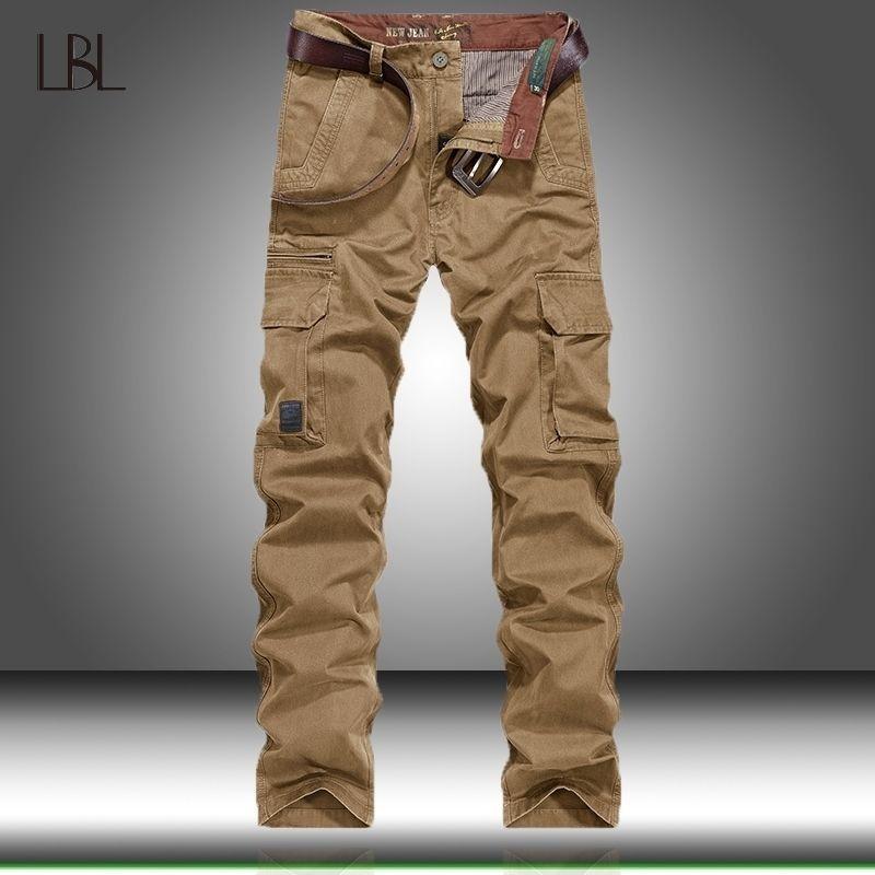 Pantalon de chargement tactique Hommes Combat Swat Army Pantalon militaire Cotton Poches multi-poches Stretch Flexible Man Un pantalon décontracté Outwear 201118