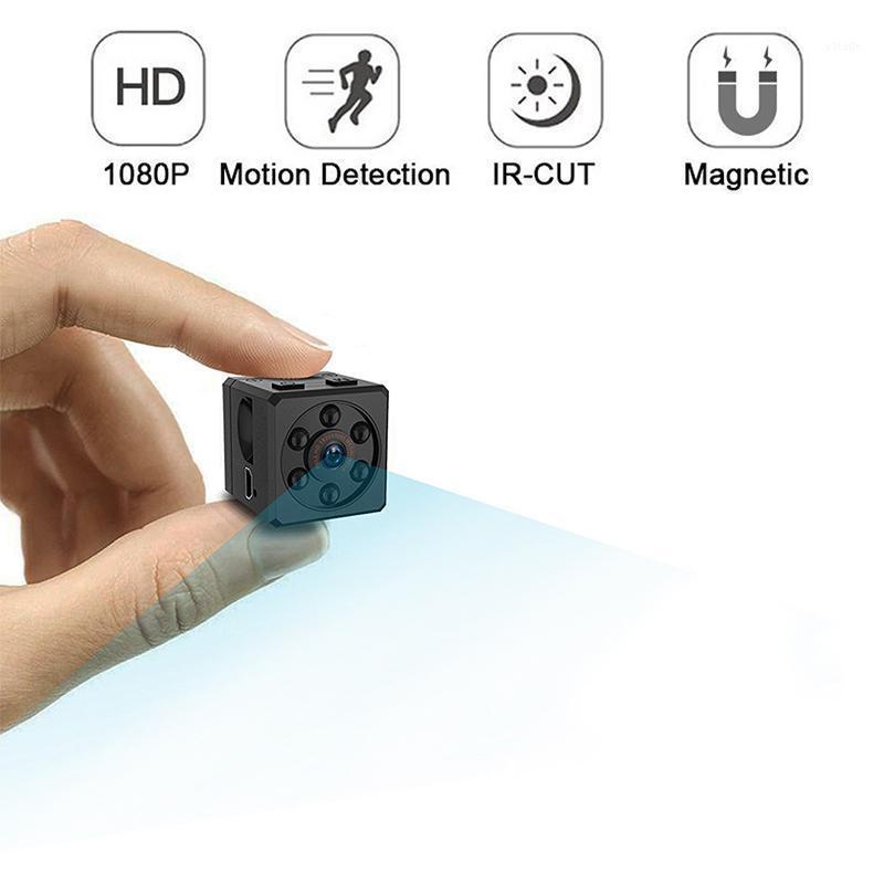 1080p mini caméra microphone USB HD webcam capteur portable home sécurité caméscope caméscope camés de vision de vision de la nuit max 128g1