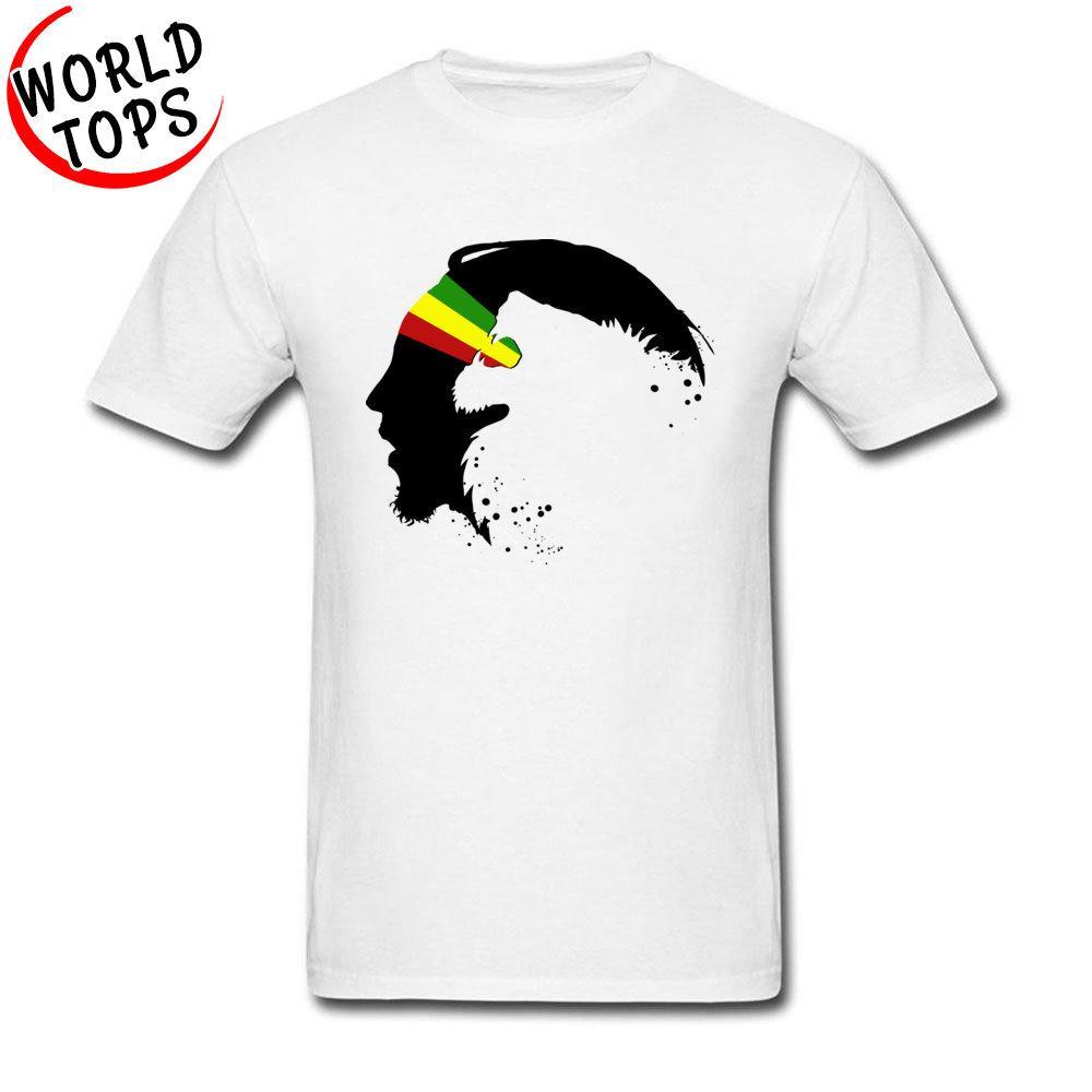 Novità Profilo Mens Nero Rasta Lion in Zion grafica su Gay Pride Bianco Tees per l'adulto Moda Felpa con cappuccio degli uomini della maglietta