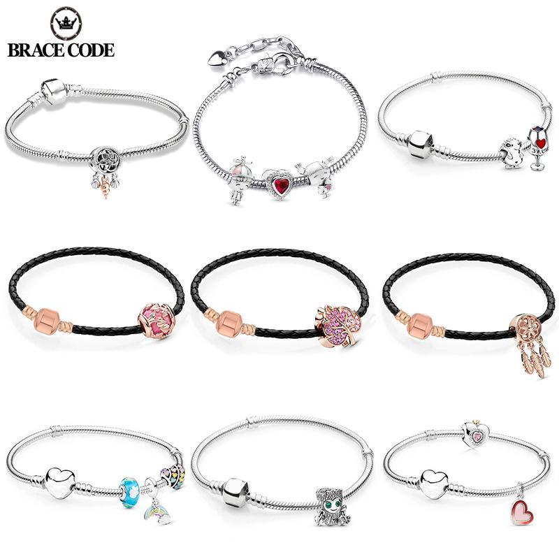 Brace Código prata banhado cobra óssea Charme Cadeia Simples Temperamento Bracelet Fit excelentes homens e mulheres pulseiras presente