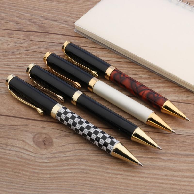 Jinhao 500 белый классический черный ручка подарка металла СТУДЕНТ Шариковая ручка