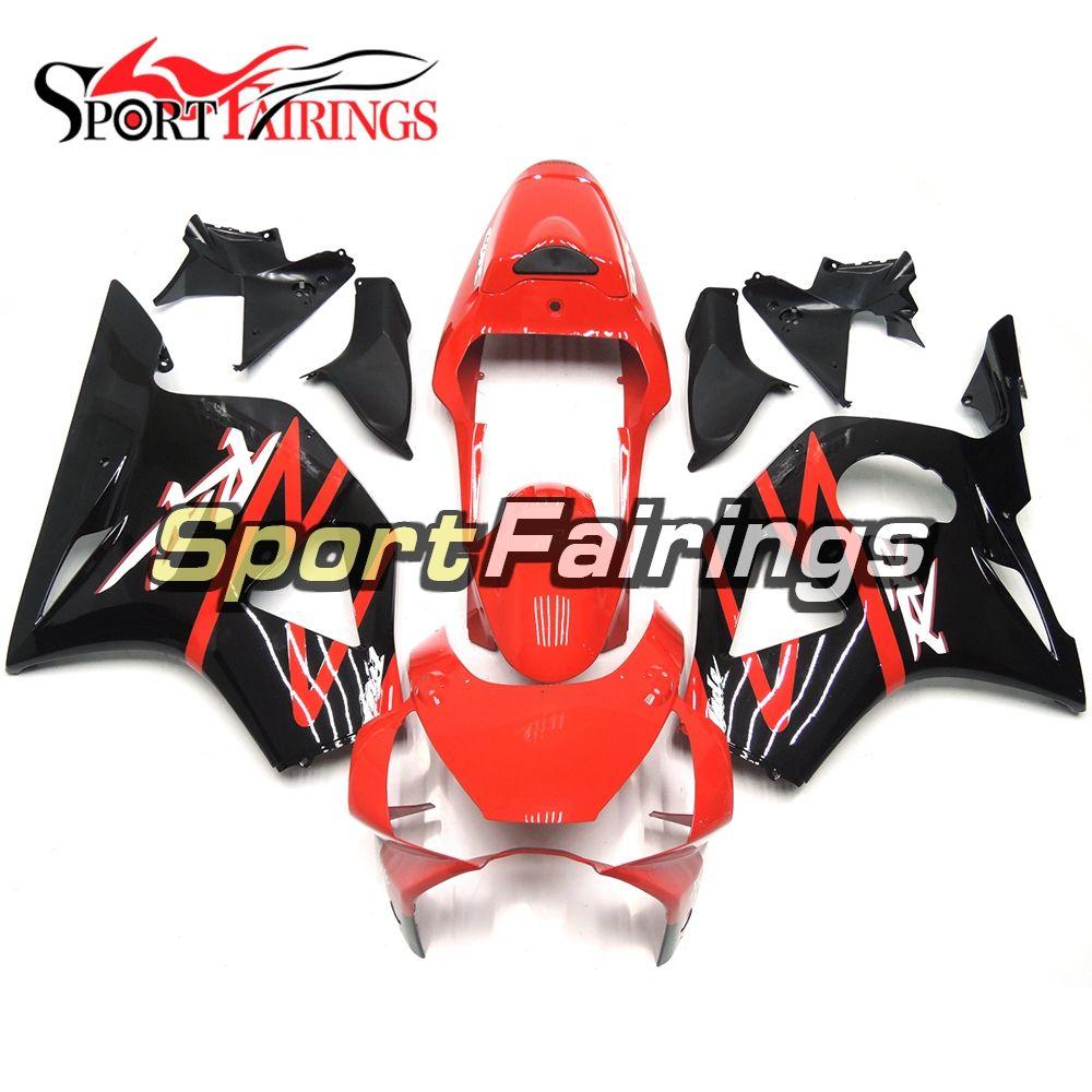 Motocicleta completa Carroçaria para Honda CBR900RR CBR 900RR 02 03 Sportbike Injection carenagens Kit Black Red Gloss 954 2002 2003