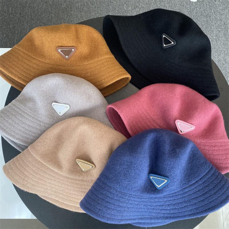 Sıcak Şapka Kadınlar Için Caps Moda Yeni Klasik Tasarım Kadın Şapka Yeni Yün Sonbahar Kış Balıkçı Şapka Sun Caps Bırak Gemi