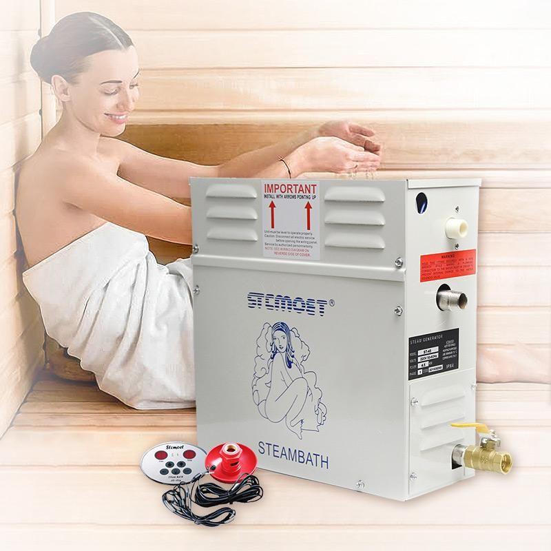 Sauna Commerical Steamer Machine Humidificador Generador de vapor 3kW / 4.5kw Sauna Sauna Spa Fumigation Máquina con controlador digital