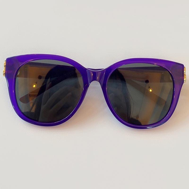 UV400 Ronda Sol Vintage 2020 Classic Llegada Marca Nuevas Mujeres Gafas de sol Glassess JGKDN