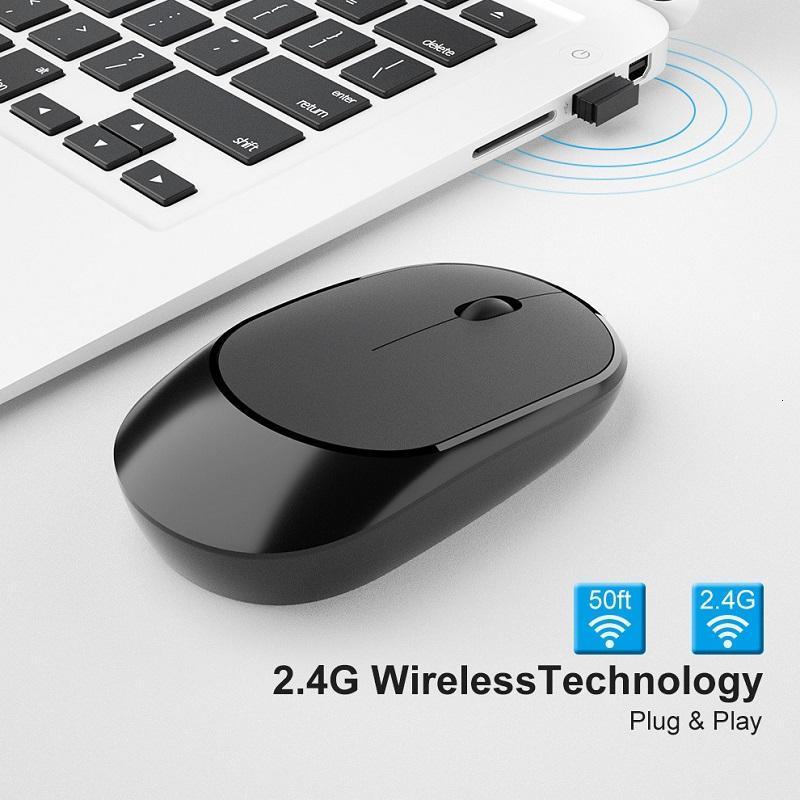 2.4 ГГц Беспроводная мышь Willent Ergonomic Mice Optical Mouse Универсальный для ПК Ноутбук 2020 Новый
