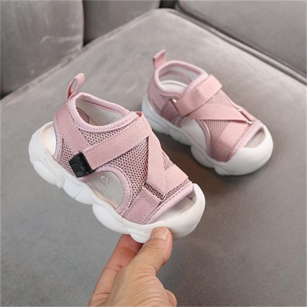 sandales bébé 2020 chaussures été nouveau tout-petits enfants garçons et filles maille chaussures de plage anti-jeu