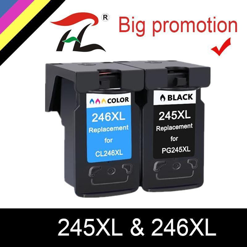 Cartucce d'inchiostro HTL PG245 PG245XL PG-245XL PG-245 PG-245XL PG-245 PG 245 XL 245XL Rimbloccato PIXMA PIXMA IP 2820 MX 492 mg 2520 2924 2920