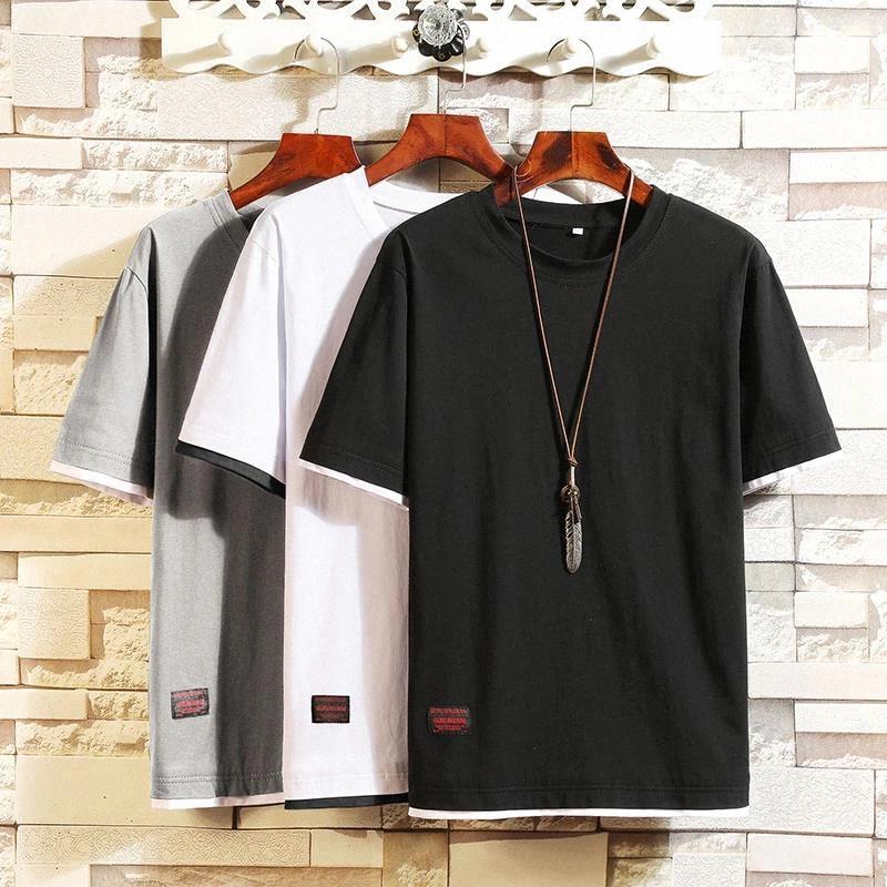 Nouveau design Summer T-shirt Hommes Homme À manches Tee Slim Fit Hommes T-shirts Style de mode Tshirt T-shirt Casual T-shirt Vêtements # EG1Z