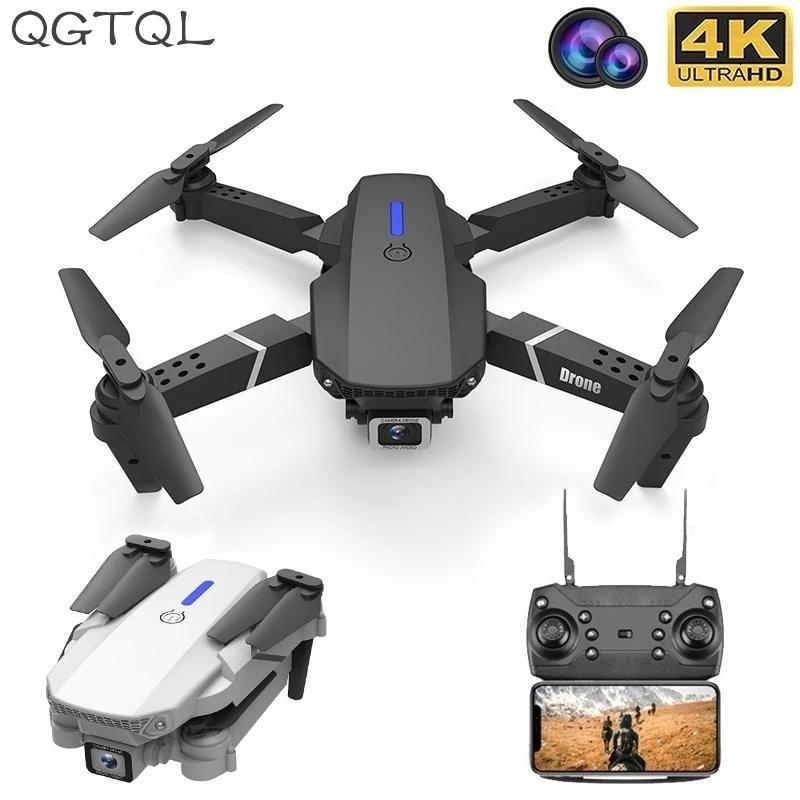 LSRC New Quadcopter Drone E525 HD 4K 1080P Cámara y WiFi FPV Altura Mantenimiento RC Foldable Quadcopter Drone Regalo Toy 201208
