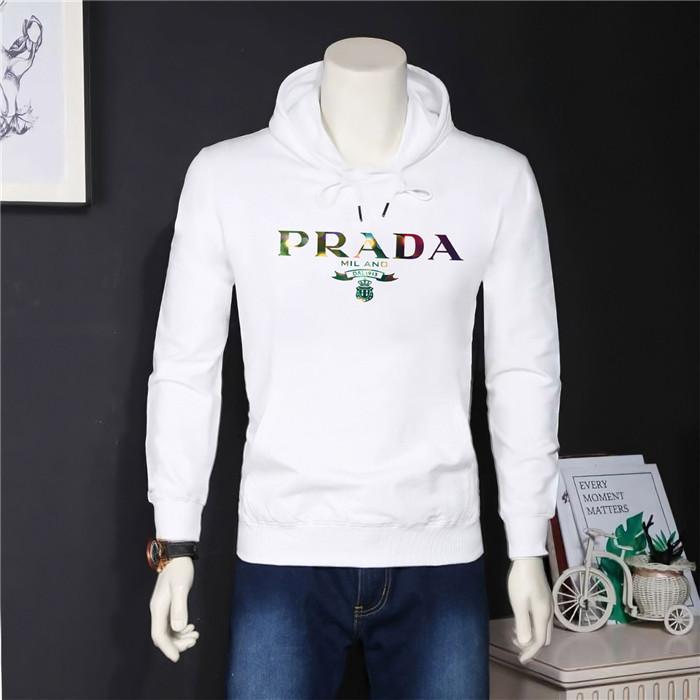 Prada hoodie famoso designer maglione casuale giacca lettera stampata uomini shirt con cappuccio di alta qualità di modo casuale Felpa s-5XL