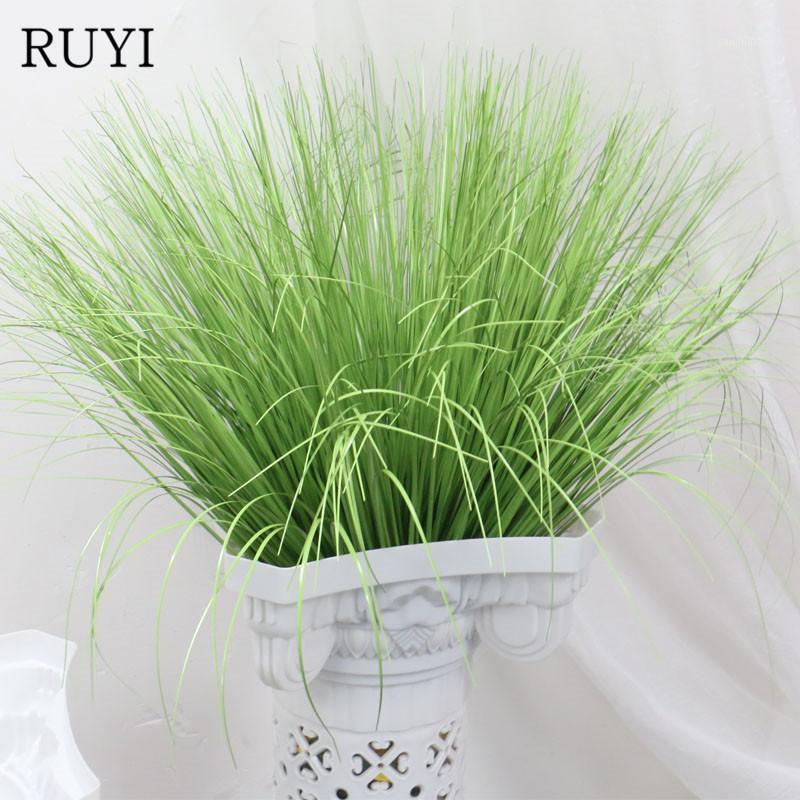 60 cm künstliche Urlaub Zwiebel gras gefälschte pflanze dekoration blume arrangieren rasen technik dekoration simulation pflanzen1