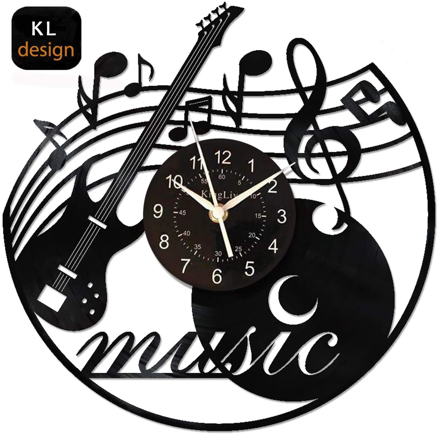 Vinyl Record Wall Clock Music Get Unique Bedroom Or Kitchen Wall Home Decor Gift Ideas For Music Lover Diy Vintage Led Choose Wall Clock Blue Wall Clock Buy From Nickyoung09 33 01 Dhgate Com
