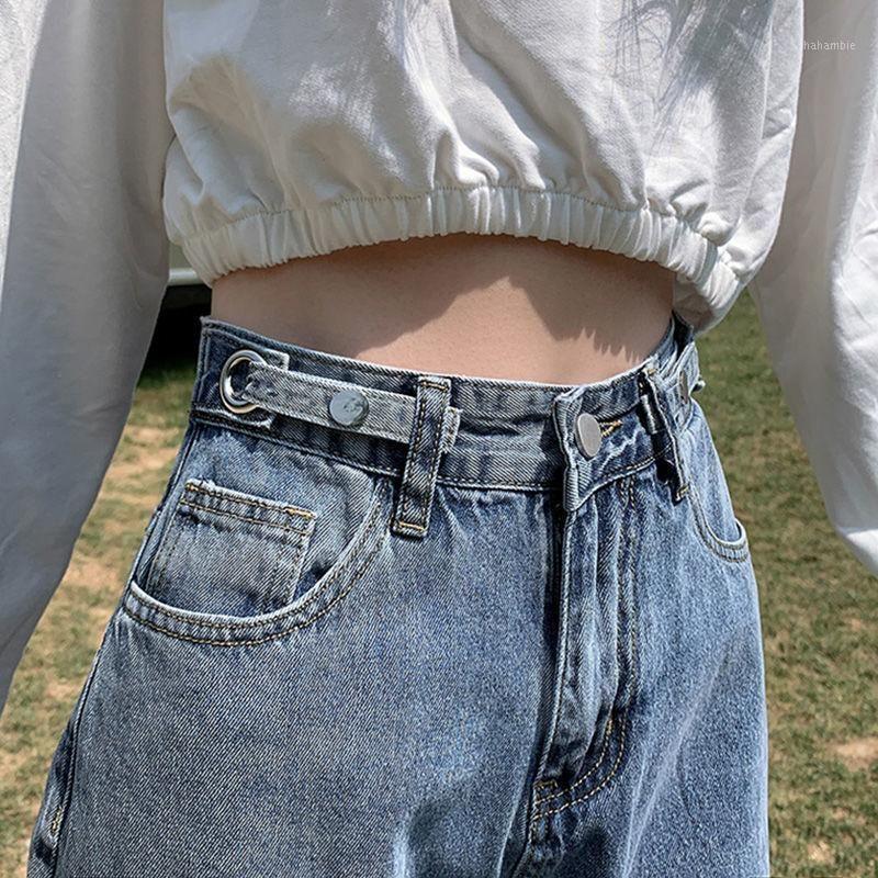 Женские джинсы 2021 осень высокая талия женский джокер стрит прямые свободные широкие брюки ноги вертикальные пола брюки1
