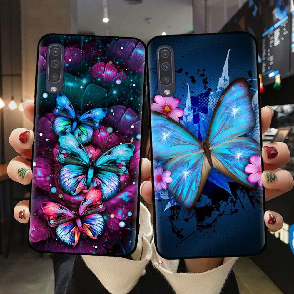 Samsung A51, A71, A10, A20, A30, A40, A50, A70, A6, A8 Plus, A7, A9-TPU-Schale
