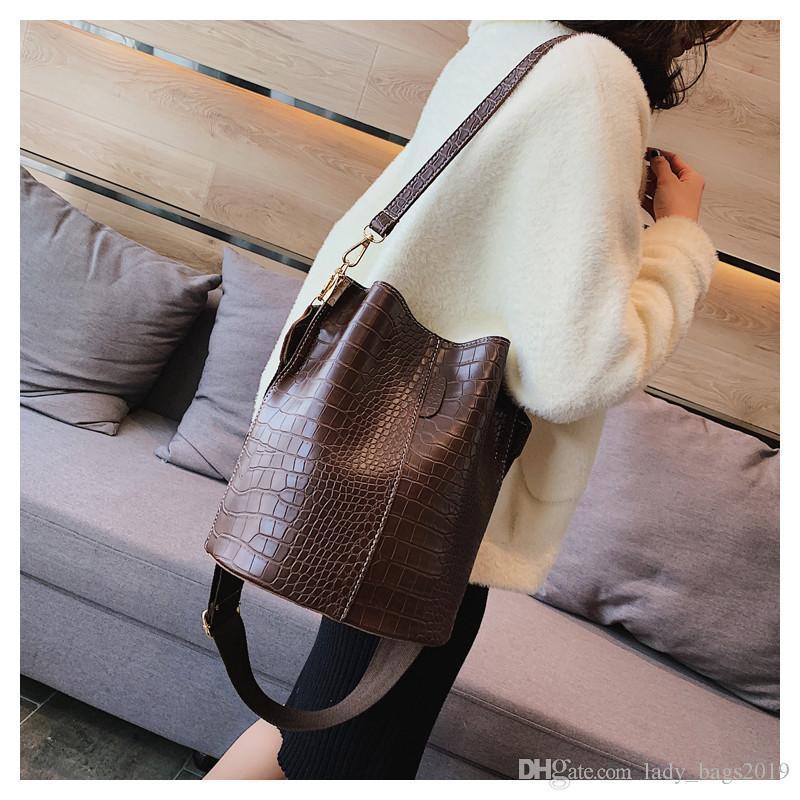 Bolso Crossbody Lady_bags Bucket Handbag para la marca GIFP PU Mujeres 2019 Bolsas de cocodrilo Lujo HPS405 Bolsas de las mujeres Bolsa Diseñador de cuero BA Sho MHUF