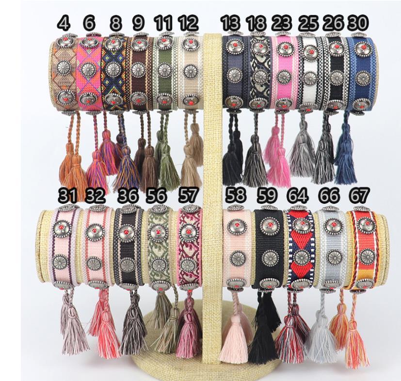 Top-Qualität Marken-Armbändern für die Braut / Brautjungfern, handgemachte Seil Armband für Frauen und Männer beste Geschenk Freundschaft Armbänder