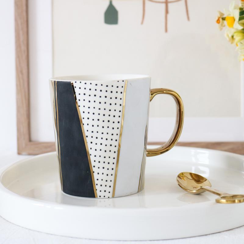 Exportação W1962 para a caneca de cerâmica multi elemento do desenhista do Reino Unido / copo de água personalizado X1027