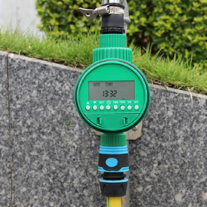 Waterproof Irrigation Controller Solenoid Valve Timer Garden Spray Automatic Controller Watering System LCD
