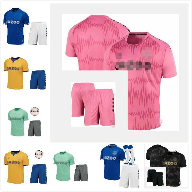 homme et enfants 2021 RICHARLISON SIGURDSSON maillots de football KEAN 20 21 kits de football haut chemise 2020 ANDRE GOMES KEANE BERNARD Tosun