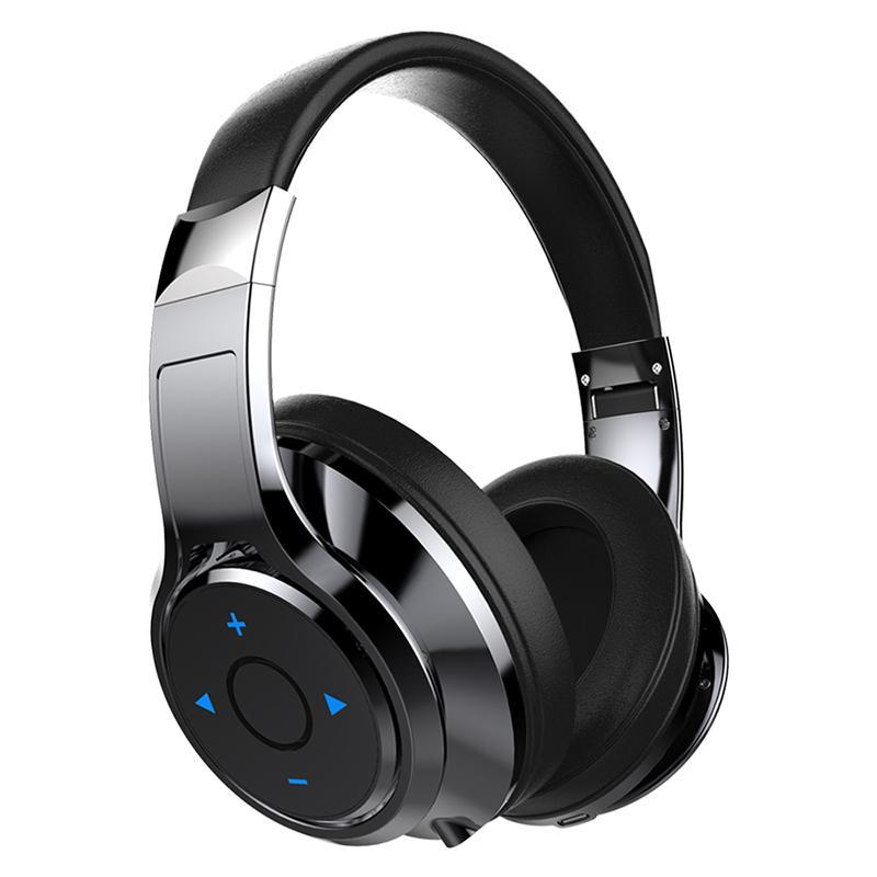 Fones de ouvido sem fio de fone de ouvido sem fio estéreo fones de ouvido de fone de ouvido com microfone para telefones computador computador de alta qualidade