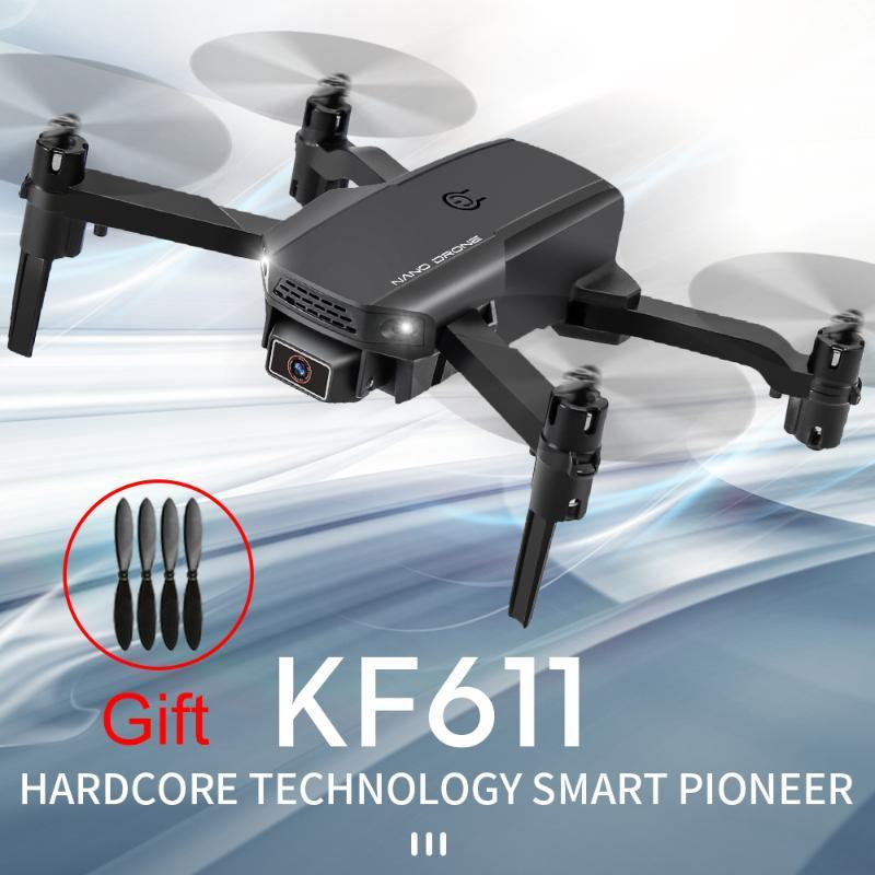 Dron 2020 новый Mini RC Drone KF611 с 4K HD-камерой WiFi FPV высота высоты давления воздуха HORS HOLD HOLD HOLD TOOL TOPCOPTER DRONE
