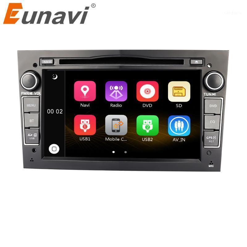 Eunavi 7 '' 2 DIN Car DVD per Vauxhall Astra H G J Vectra Antara Zafira Corsa GPS Navigazione Radio Stereo Player in Dash USB1