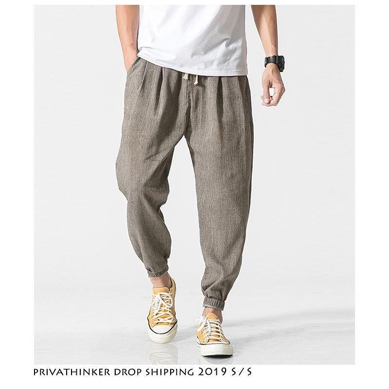 Dropshipping Hommes Harajuku Streetwear Harem Pantalons Harem Hommes Mens Sweat Pullpants Mâle Santé noire 5XL Joggers 201118