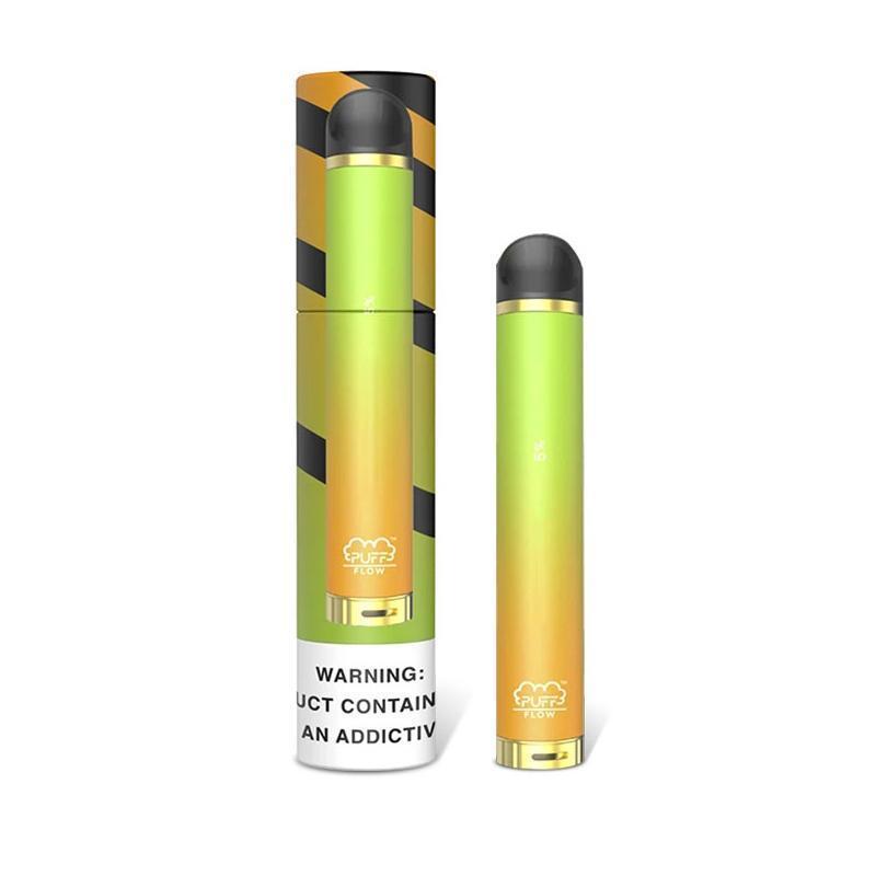 Puff Flow Disposable Device Pod Starter Kit 650mah 4ml Capacity Big Volume 1000 Puffs Puff Flow Vapes Pen VS puffbar