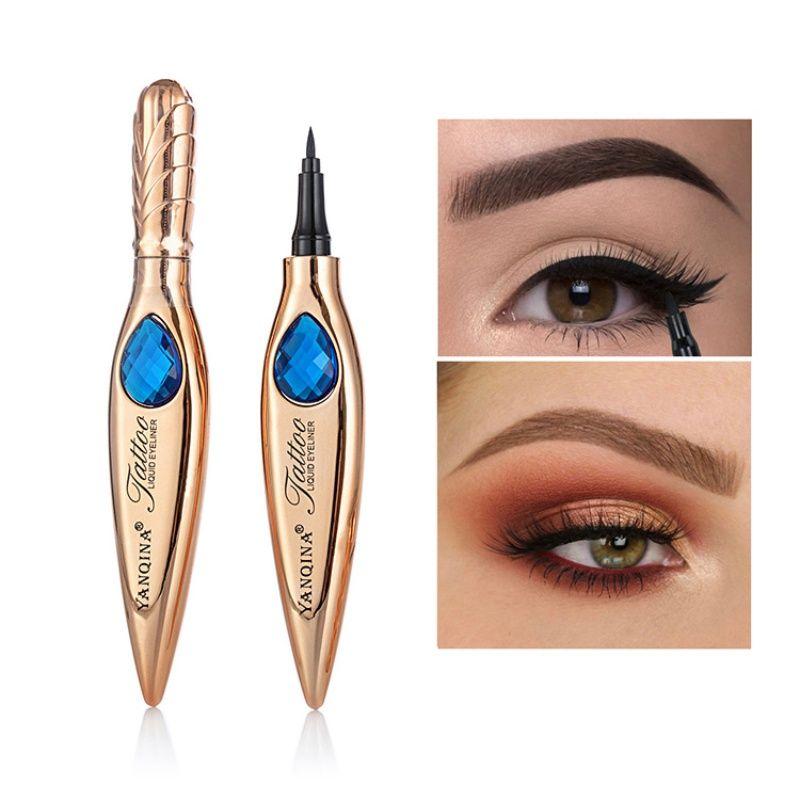 Neuer Feder-Form-Eyeliner wasserdicht wisch- Langlebige Liquid Eyeliner Cosmetic