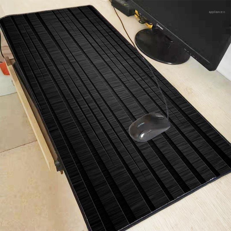 XGZ Large All Black Texture Mouse Pad Mat Whole Black Desk Table Mousepad Office Cushion Super Big 60cm 70cm 80cm 90cm Thicken1