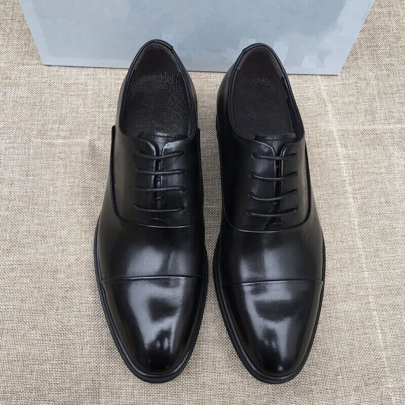 Sapatos masculinos de Belle outono empresários de couro ternos sapatos de couro masculinos respirável cowhide british moda1