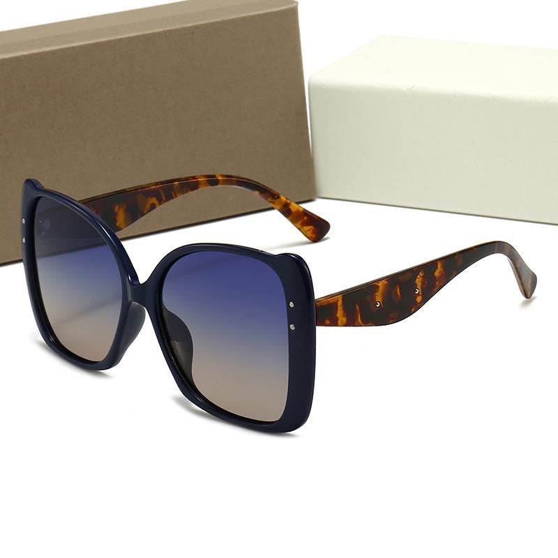 Millionaire de luxe Femmes Mode Pilote Pilote Sunglasses UV Polarisation AdumBral Métal Designer Sun Verres de haute qualité avec boîte-cadeau