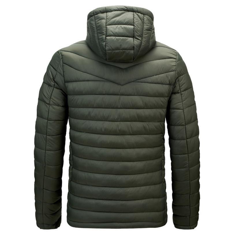 Herren Winter warme Outdoor-Daunenjacke heißen Verkauf Art und Weise EQZQLQBJ