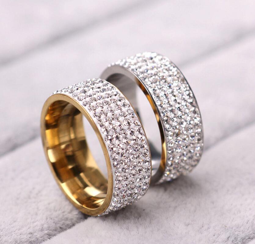 Anelli anello in oro anelli anelli coppia anello per le donne uomini anelli di nozze gioielli