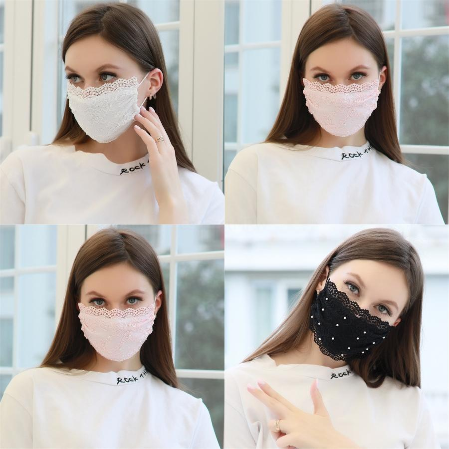 Anti Dust Fashion ClearWashable Face Mask Prective Mouth Mute Deaf Mascarilla Printing Flower Girl Boy#542