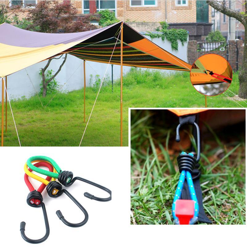 Çadır Kanca Açık Kamp Çadırı Elastik Halat Toka Kanca 15 cm Sabit Bağlama Kayışı Çadır Halat Kanca TXTB1