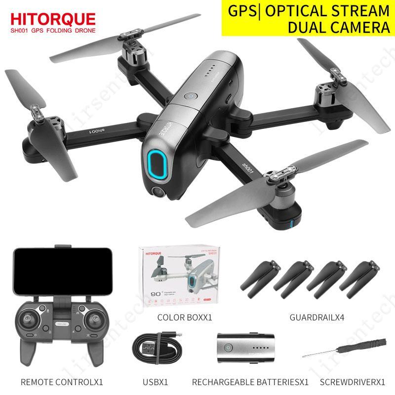 2021 Mini fotografía Drones con Sígueme Videotransmitter 4K HD Cámara y GPS 5G WiFi Control remoto Quadcopter Free Entrega
