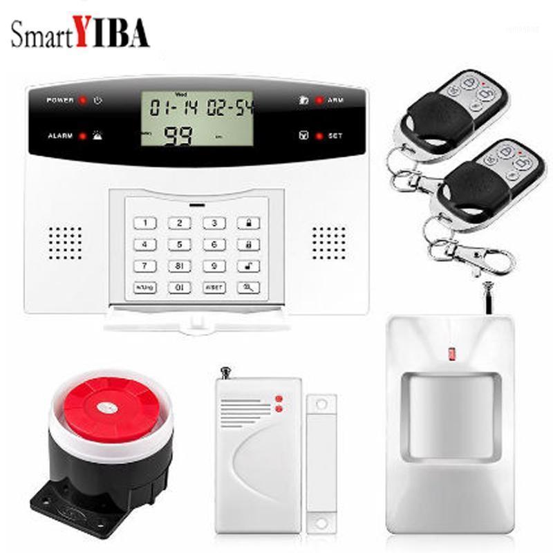 Smartyiba Russian Francês Espanhol Português Italiano Polonês Voz Tcheca Fio Sem Fio GSM SMS Home Security Alarme de Alarme System1