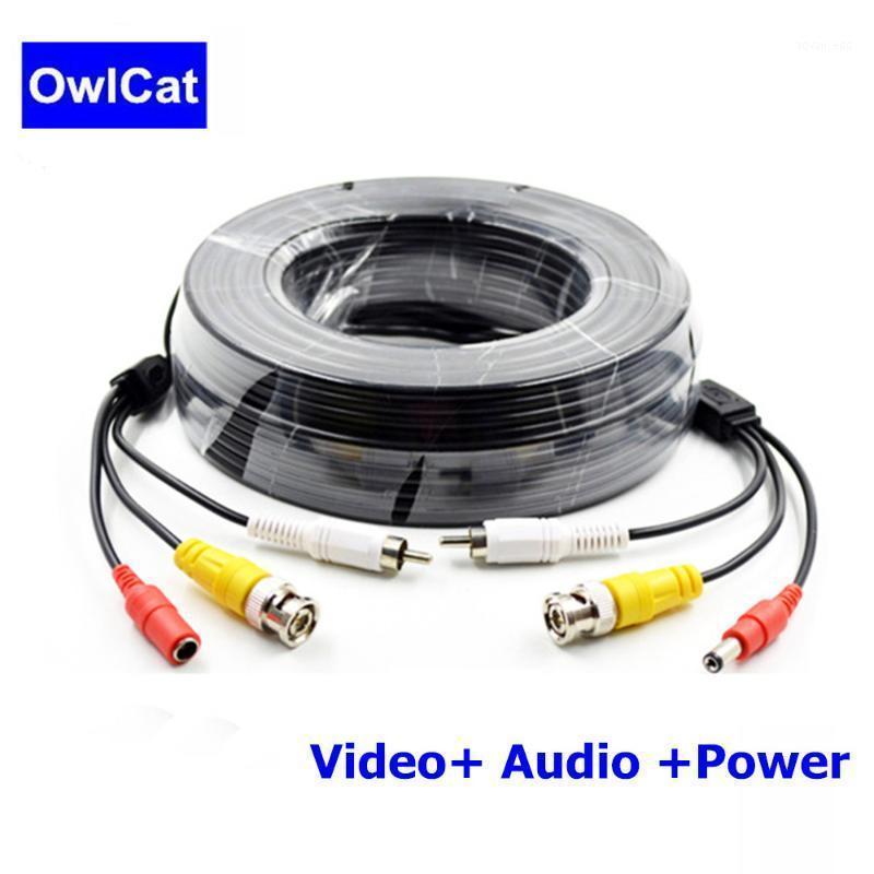 Cámara de video de CCTV DVR de 2m 5m 10m 20m CCTV DVR Cable de video DC Power RCA Audio Audio BNC Video Video Vigilancia Cámara Cable1