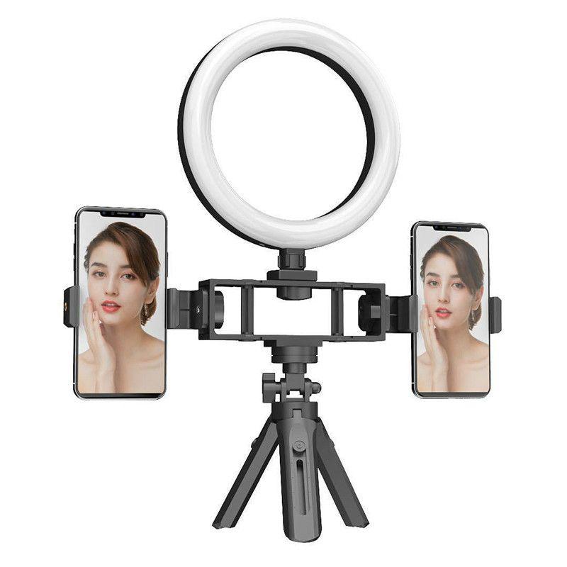 K316 الدائري ملء ضوء ترايبود حامل عكس الضوء الهاتف المحمول selfie ضوء الفيديو selfie ماكياج ملء مصباح K320 K315