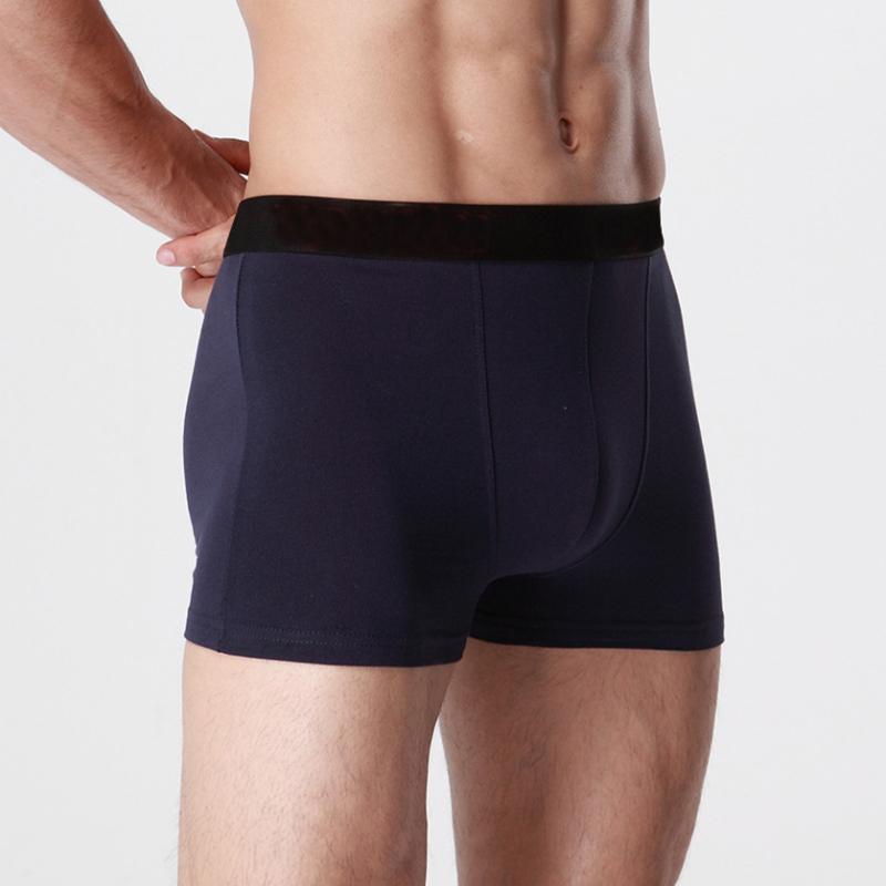 2019 Brand Mens Boxers Cotton Trunk Sexy Men Underwear Mens Underpants Male Panties Shorts Plus Size Boxers Underwears1