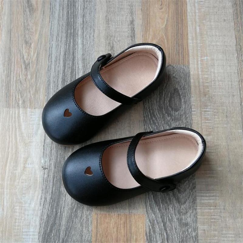 sapatas da criança sapatos princesa bebé Crianças de Qualidade macio das meninas de dança de couro genuíno de fundo