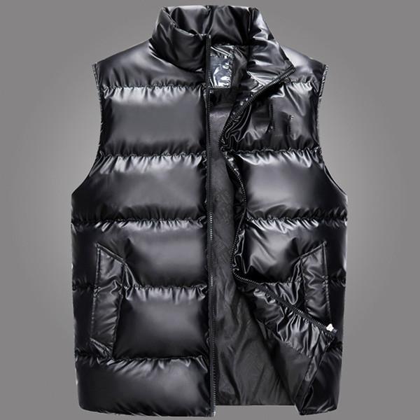 el diseñador del mens chaquetas de lujo a prueba de viento de invierno Pan Fin Outwear el miedo a la capa de los hombres de dios espesó abajo chaleco de algodón