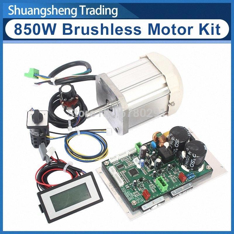 850W DC sin escobillas del motor / tablero de control principal / WM210V Torno Power Drive Kit BoardMotor bblC #