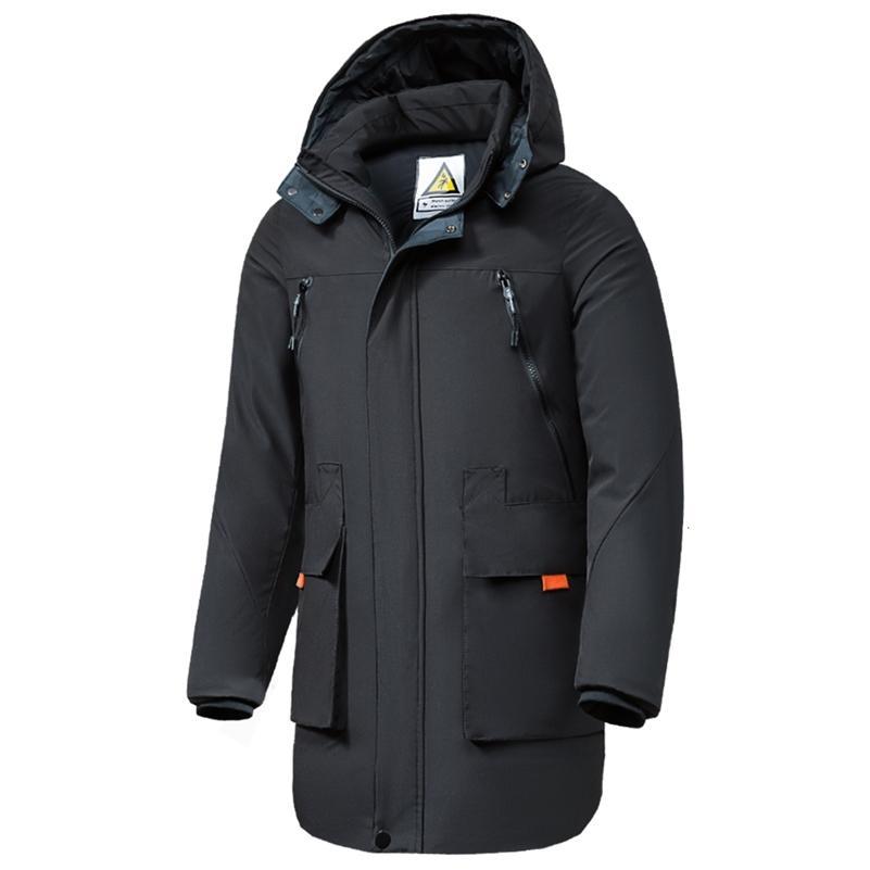 Oumor 8xl homens inverno novo longo casual camuflagem jaqueta jaqueta parkas casaco homens ao ar livre moda quente bolsos grossos parkas trincheiras homens 201225