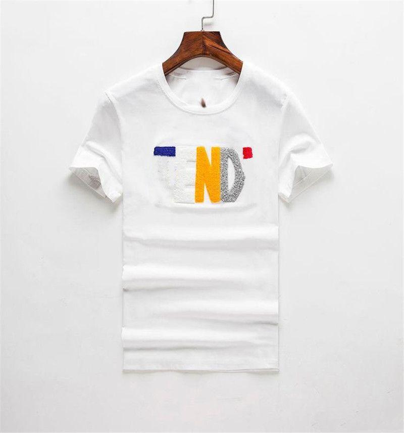 Yeni Erkek Kadın Tasarımcılar T Gömlek Moda Erkekler S Casual T Shirt Adam Giyim Sokak Tasarımcısı Şort Sleeve 2021 Giysi Tişörtleri
